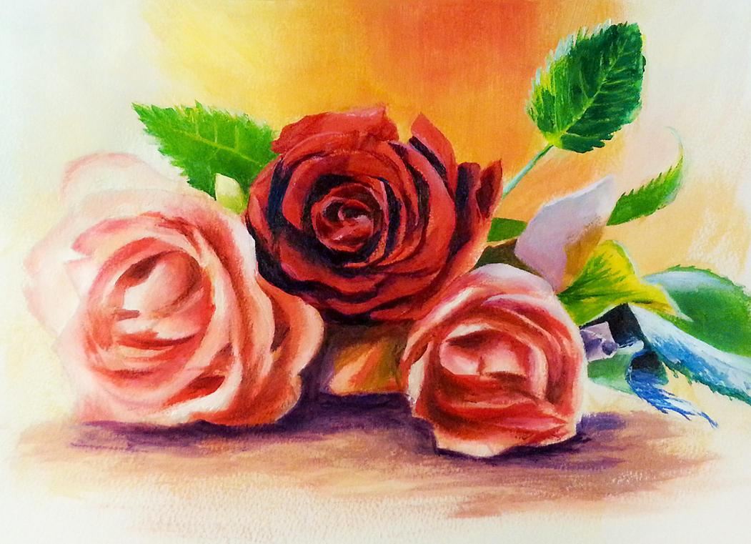 Roses by Dekus