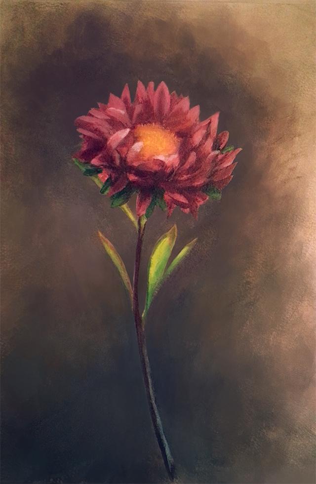 Flower painting 2 by Dekus