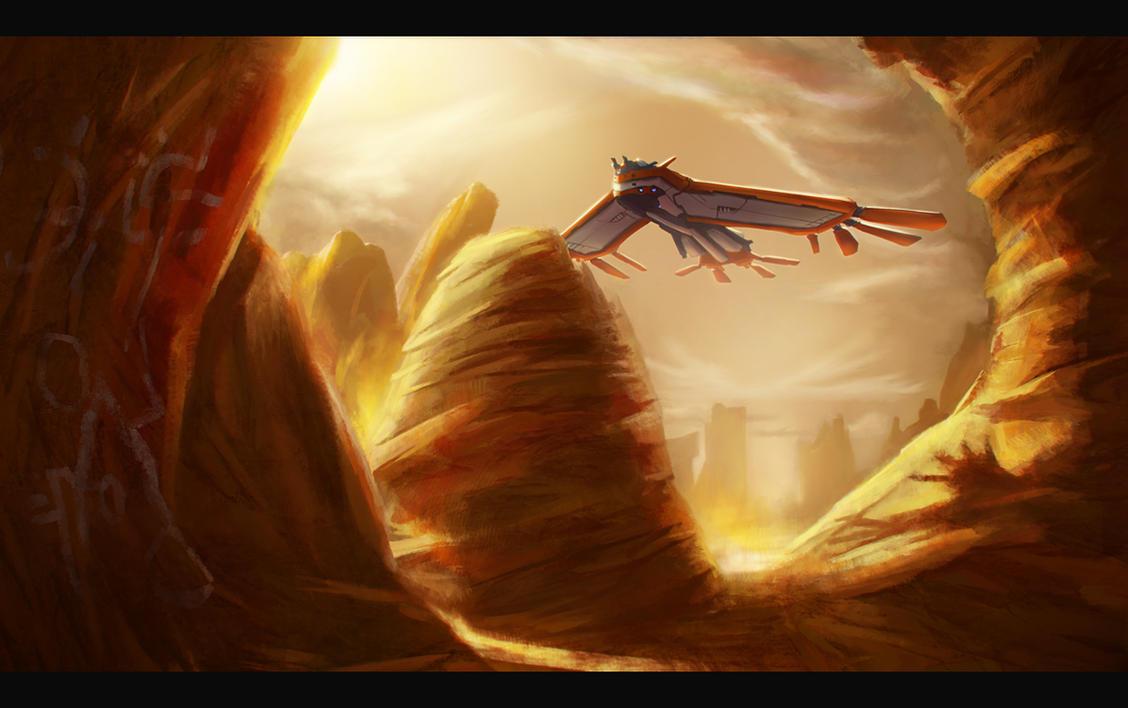 Ancient Mars by Dekus