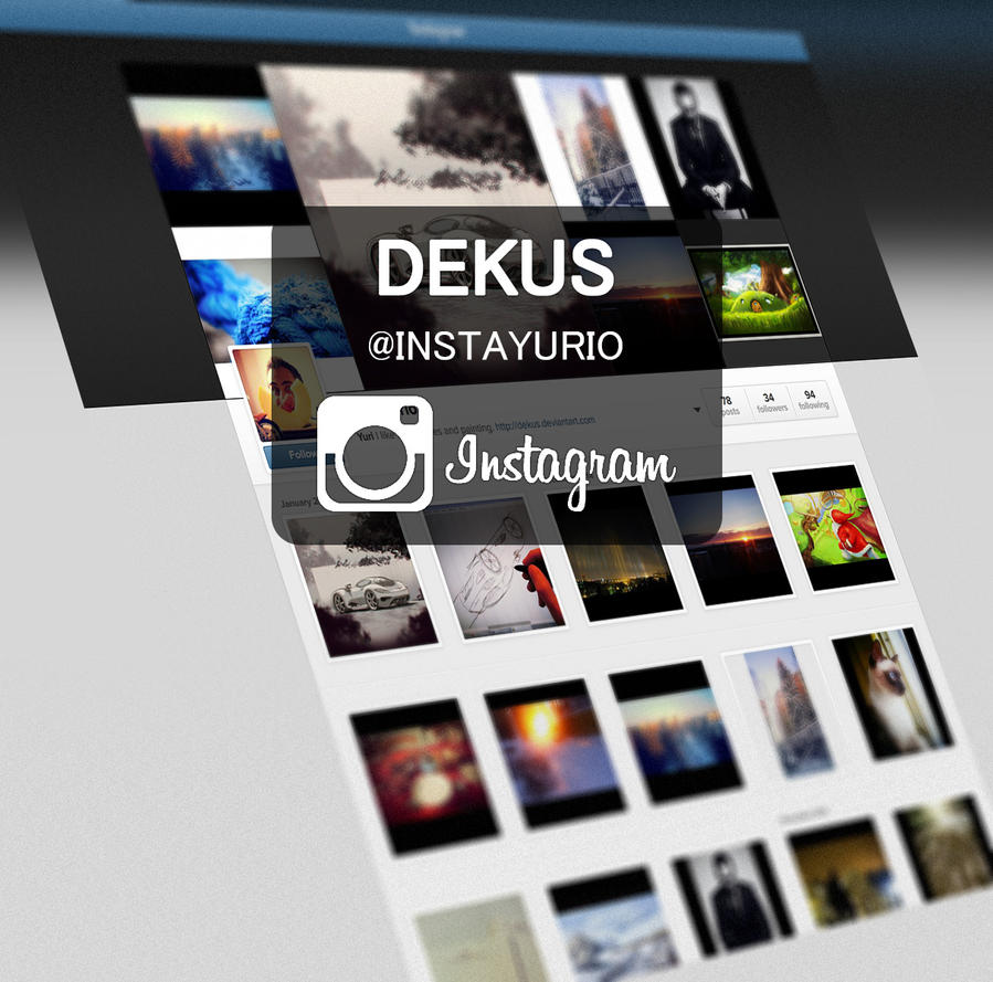 Follow me instantly by Dekus