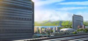 Dream city speedpainting