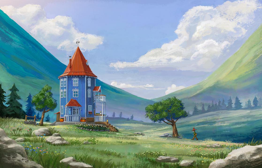 Summer in Moominvalley by Dekus
