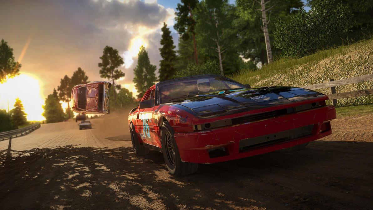 Next Car Game/ Wreckfest screenshot/wallpaper 6 by Dekus