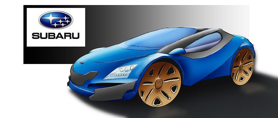 Subaru concept by Dekus