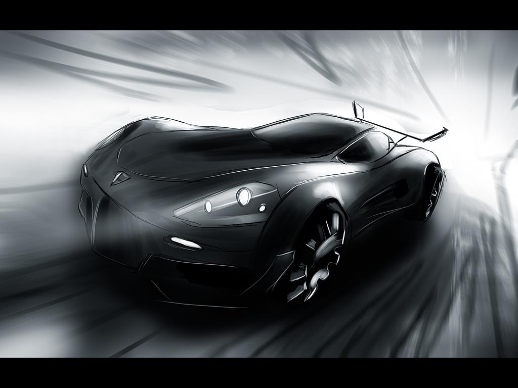 Porsche - speedpainting by Dekus