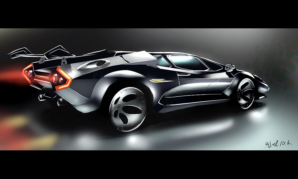Lamborghini Countach FE by Dekus