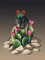 Suice on a Cactus by fiachmara