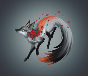 Crimson Clover Fox