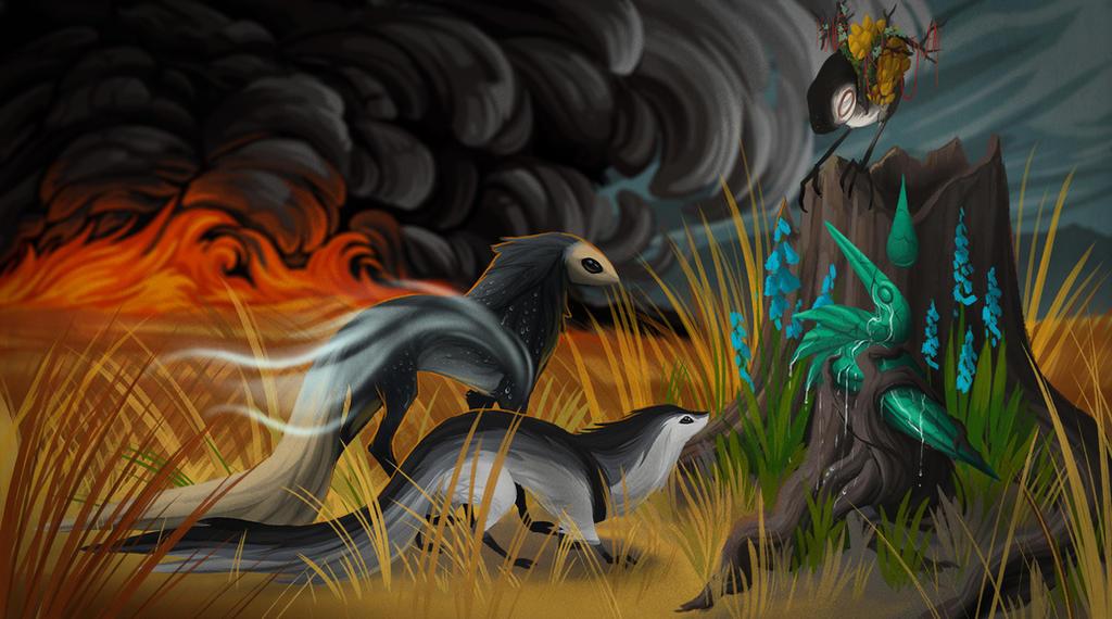 [Firestorm: Ch03] The Elementals by fiachmara
