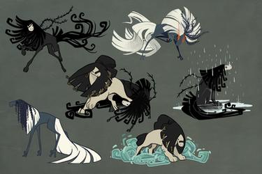 Sheet - Desert Ghosts by fiachmara