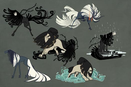 Sheet - Desert Ghosts