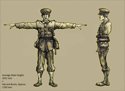 World War One Soldier