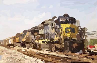 Freight Train - non clonedness by Cique
