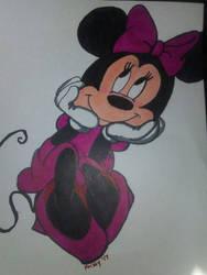 Fan Art: Minnie Mouse by Amazair