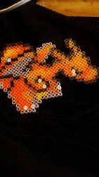 Perler bead art: Charizard by Amazair