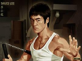 Bruce Lee by diplines