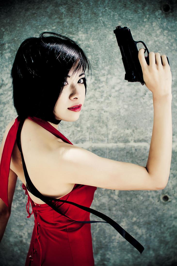 Lady in Red: Ada Wong by Xxfruit-cakexX