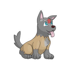 Luppy(fakemon) by Alpheux