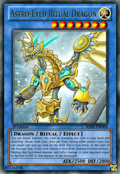 Astro-Eyed Ritual Dragon (Fanmade Card w/ frame) by Alpheux