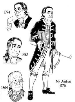 Anthon Model Sheet