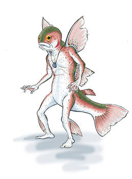 Grandfather Trout Pixie