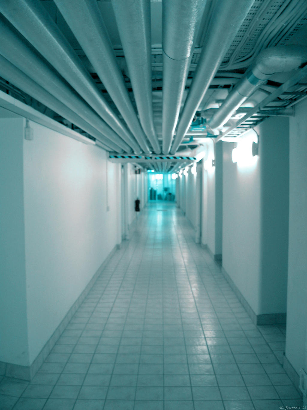 Basement corridor by dreamk8 on deviantart - Kleur corridor ...