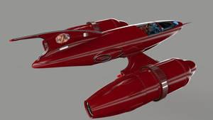 New cockpit - Red Rocketeer