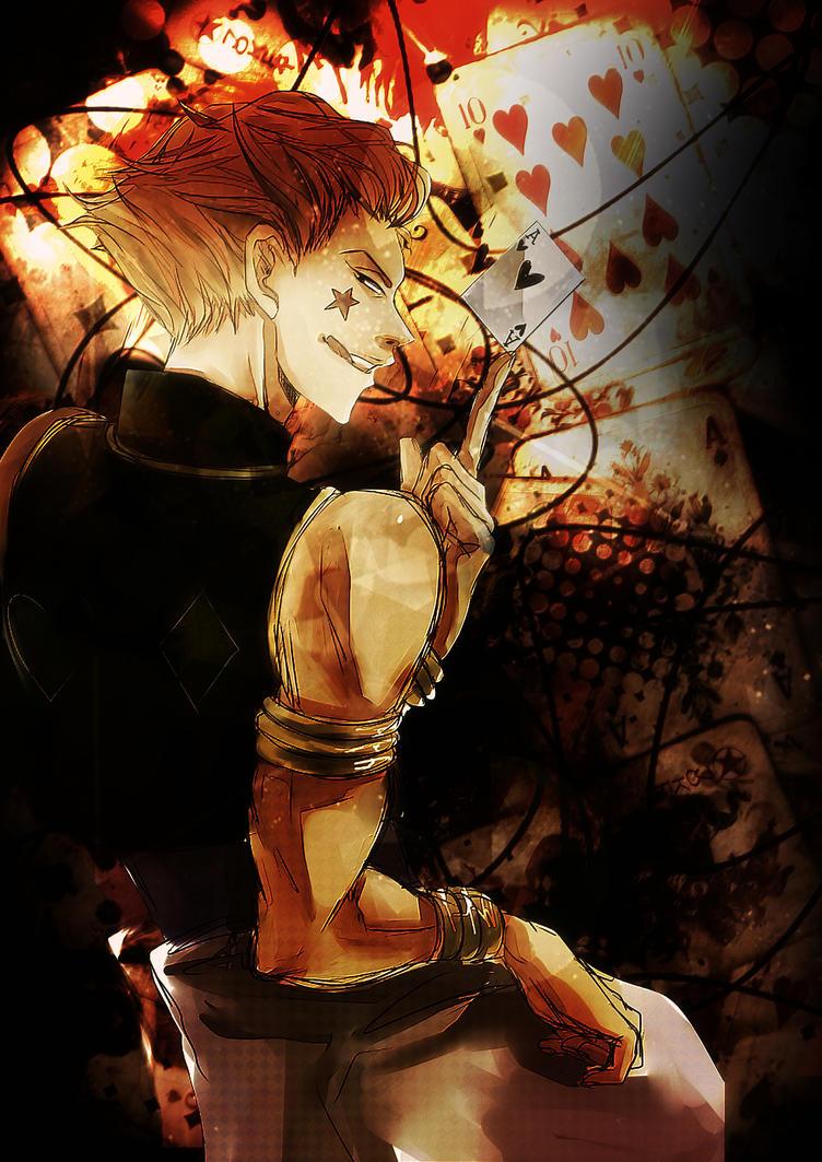 Hisoka Hunter X By Akasunanosasori20