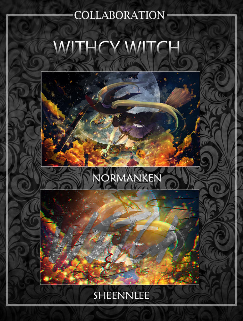 Withcy Witch Collaboration by akasunanosasori20