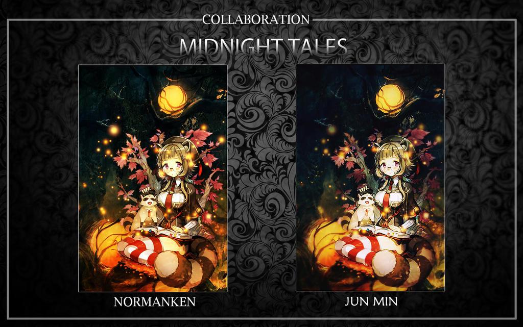 Midnight Tales by akasunanosasori20