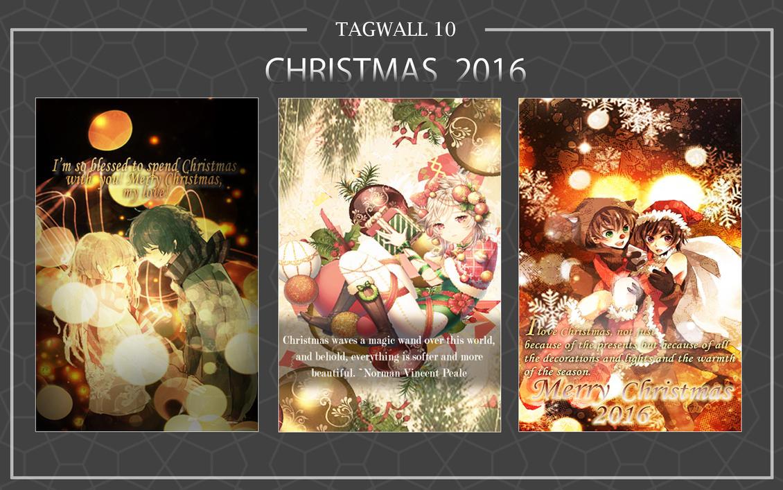 Christmas Tagwall 2016 by akasunanosasori20