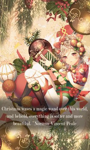 Christmas Magic by akasunanosasori20
