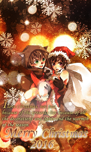 Christmas couple by akasunanosasori20