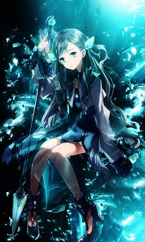 Aqua Maiden by akasunanosasori20