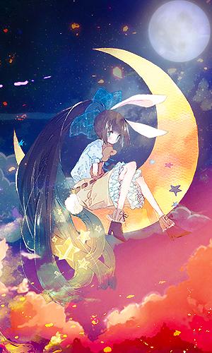 Moonlight Neon by akasunanosasori20
