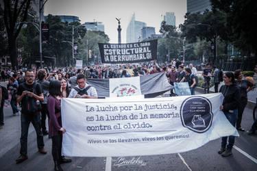 Ayotzinapa 3years by Badzka