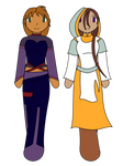 Mini project - Pyre and Atrina by purenightshade