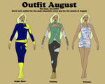 Outfit August part 4 by purenightshade