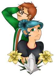 SDV - Harvey and Charlie by purenightshade