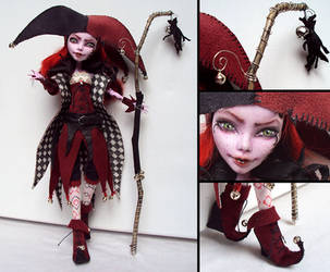 Jester - Monster High Operetta custom by fuchskauz