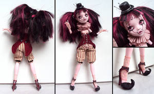 Circusgirl - Monster High Draculaura Custom