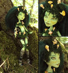 Mossfairy - Monster High Venus Mcflytrap custom