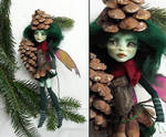 Fir fairy - monster high custom by fuchskauz