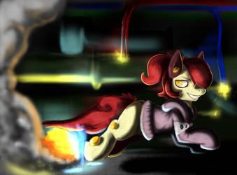 Supa Pony by GeneralGirlScout