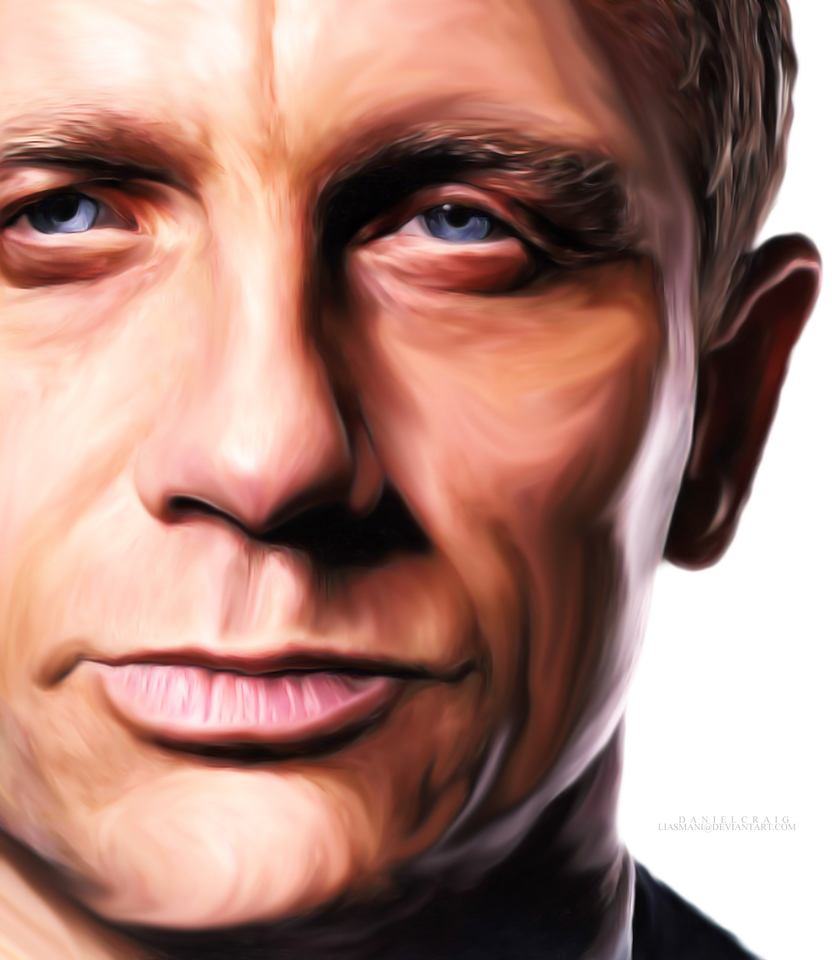 Digital Painting: Daniel Craig by Liasmani on DeviantArt