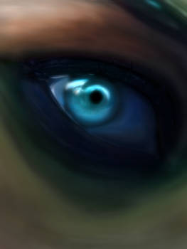 Digital Painting - The Eye