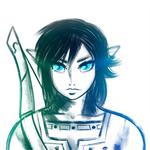Legend of Zelda : BotW - Link Sketch Practice