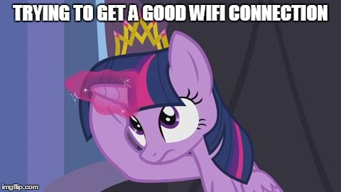 Trying to Get a Good WiFi Connection by VeteranPegasister