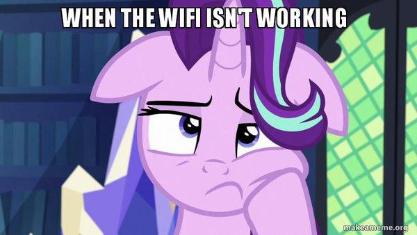 When the WiFi Isn't Working by VeteranPegasister