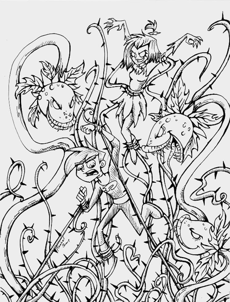 Line Drawing Jungle : Dp urban jungle line art by sharkie on deviantart